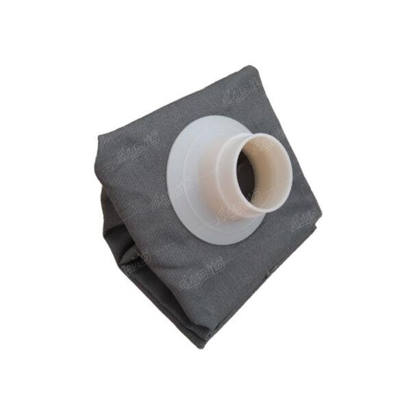 کیسه جاروبرقی سطلی قیفی از نمای کنار