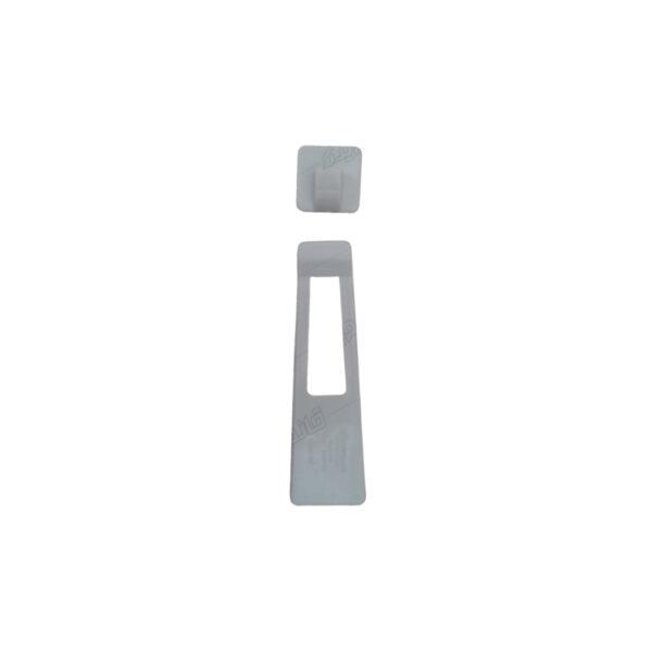 قفل در یخچال چسبی به همراه قطعه اتصال