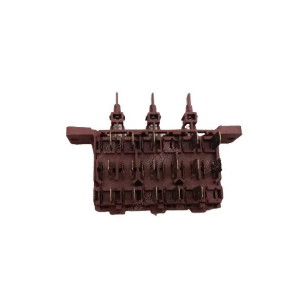 کلید جلوی لباسشویی آزمایش از نمای بالا