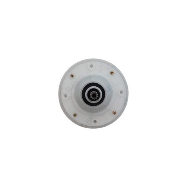 گیربکس ماشین لباسشویی دوقلو حایر کوچک 10شیار-51mm از نمای بالا