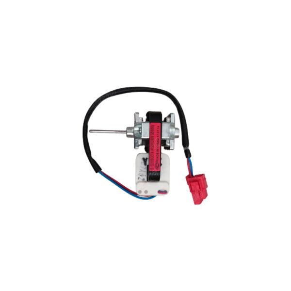 فن موتور یخچال سوکت قرمز از نمای کنار